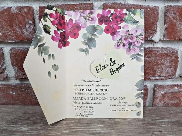 Invitatie nunta cod 5602 5