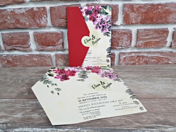 Invitatie nunta cod 5602 6