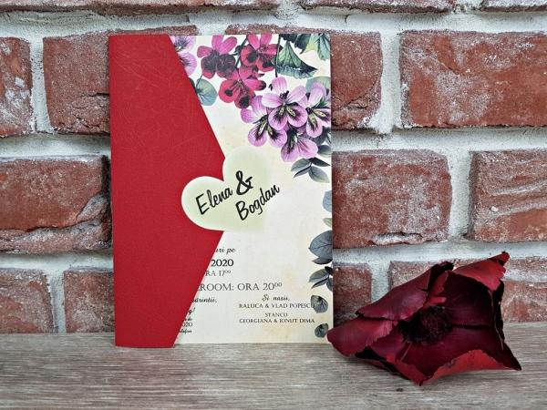Invitatie nunta cod 5602 0