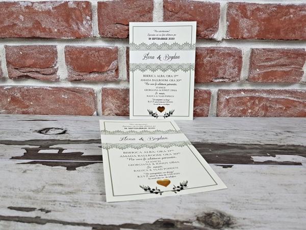 Invitatie nunta cod 5610 1