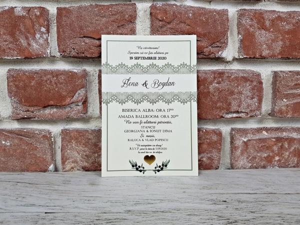 Invitatie nunta cod 5610 0
