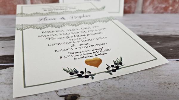 Invitatie nunta cod 5610 3