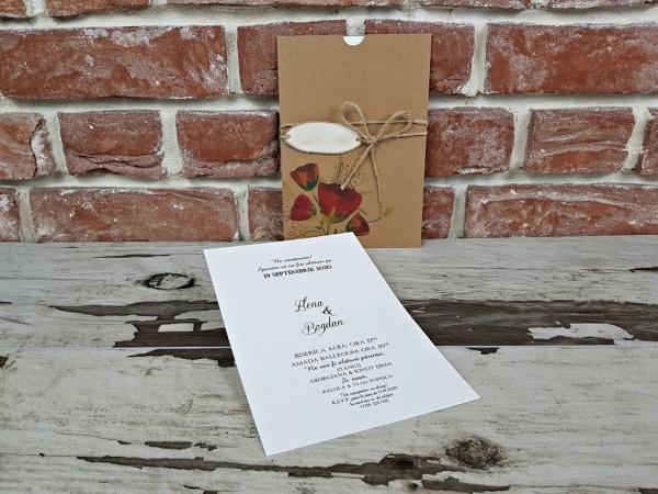 Invitatie nunta cod 5647 2