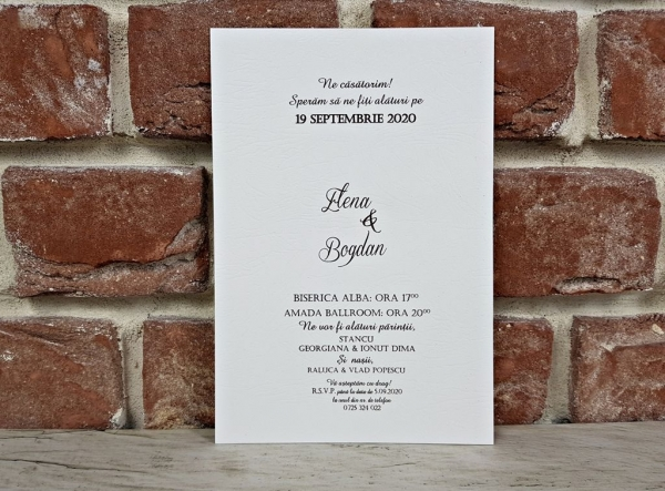 Invitatie nunta cod 5647 4