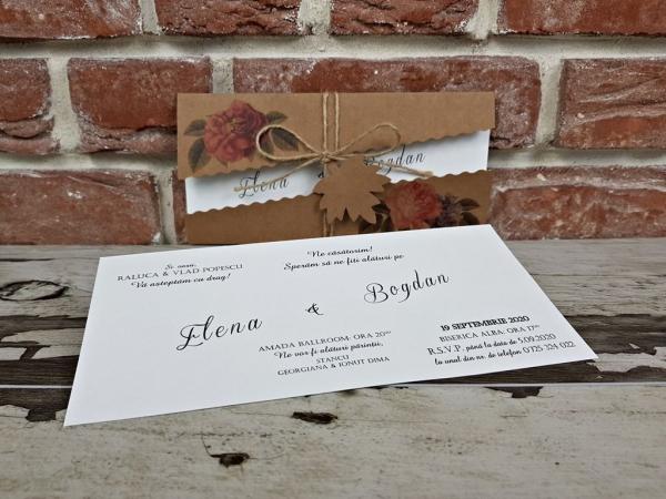 Invitatie nunta cod 5655 7