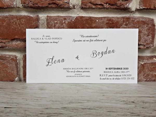 Invitatie nunta cod 5655 4