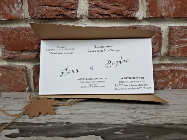 Invitatie nunta cod 5655 2