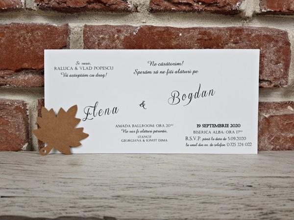 Invitatie nunta cod 5655 6