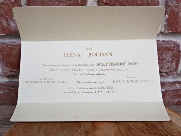 Invitatie nunta cod 5658 2