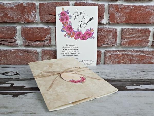 Invitatie nunta cod 5611 5