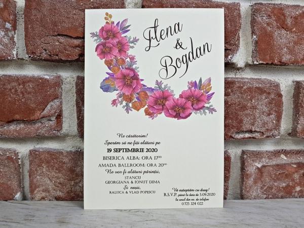 Invitatie nunta cod 5611 4