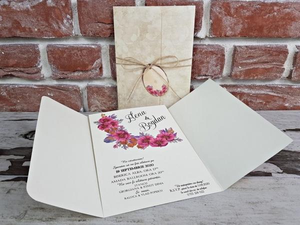 Invitatie nunta cod 5611 3