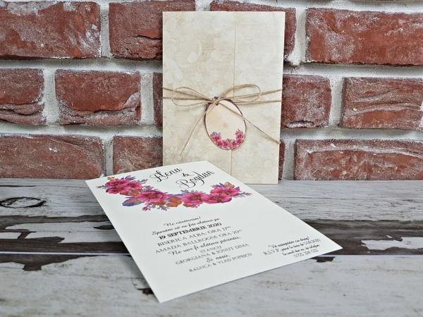 Invitatie nunta cod 5611 1