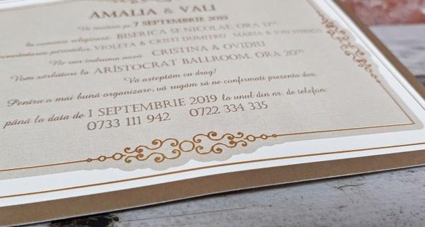 Invitatie nunta cod 5666 6