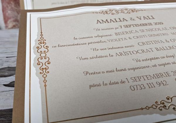 Invitatie nunta cod 5666 5
