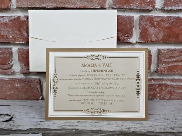 Invitatie nunta cod 5666 4
