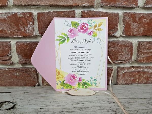 Invitatie nunta cod 5667 4