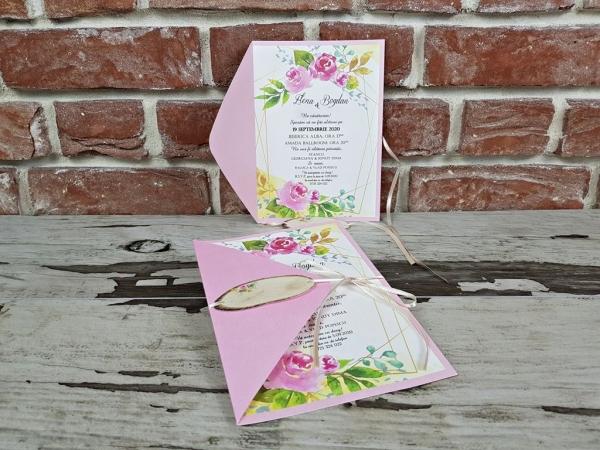 Invitatie nunta cod 5667 5