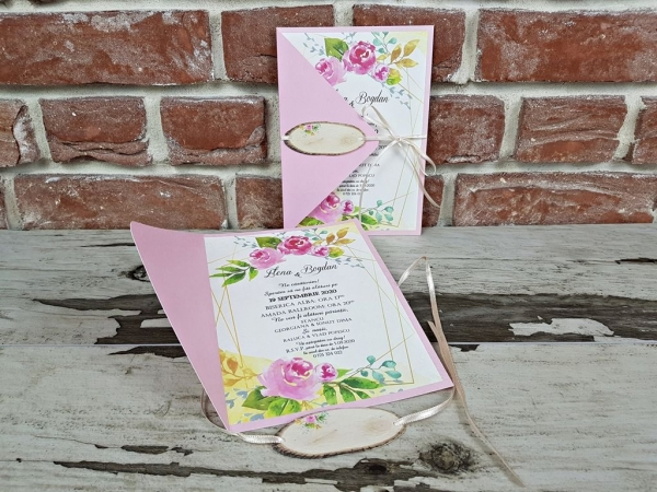 Invitatie nunta cod 5667 3