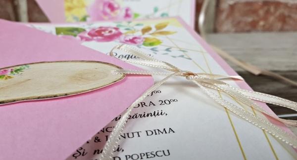 Invitatie nunta cod 5667 6