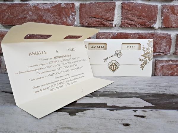 Invitatie nunta cod 5668 4