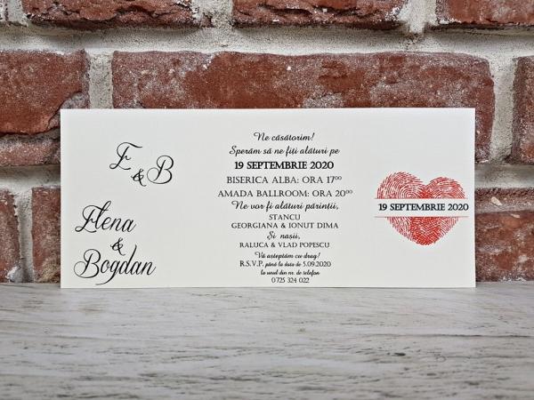 Invitatie nunta cod 5669 4