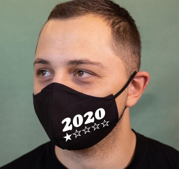 Masca Personalizata - 2020 o steluta 0