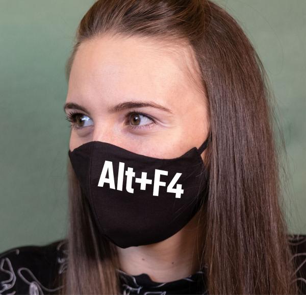 Masca Personalizata - Alt + F4 0