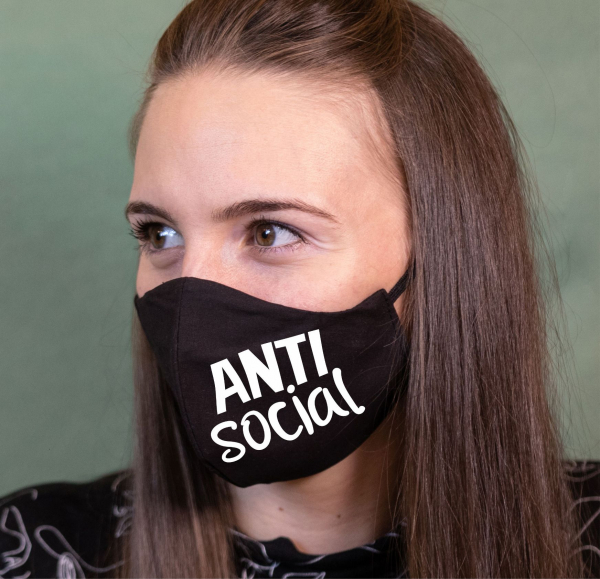 Masca Personalizata - Anti Social 0
