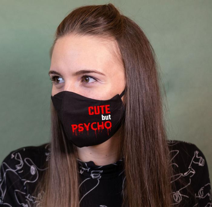 Masca Personalizata - Cute But Psycho 0