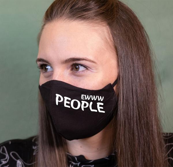 Masca Personalizata - Eww People 0
