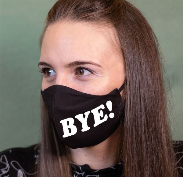 Masca Personalizata - Hi, Bye 1