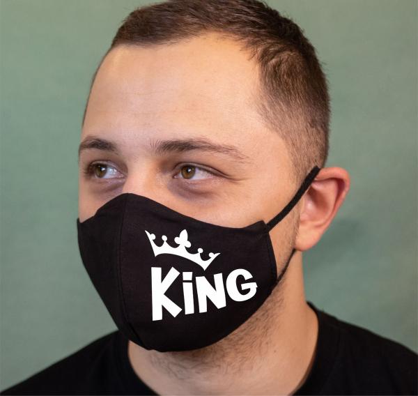 Masca Personalizata - King 0