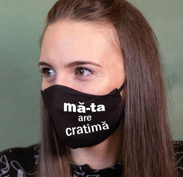 Masca Personalizata - Ma-ta Are Cratima 0