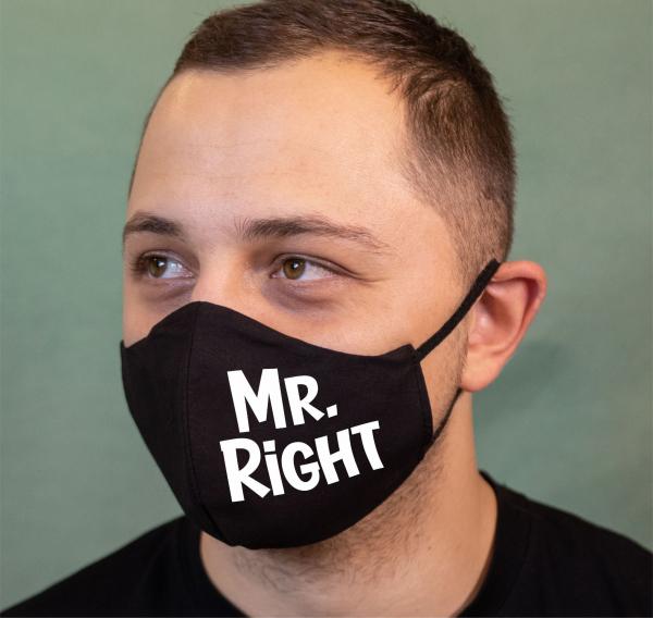 Masca Personalizata - Mr. Right 0