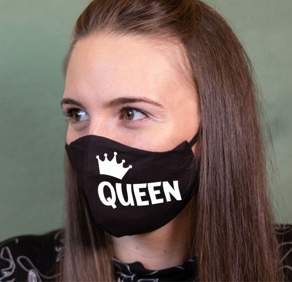 Masca Personalizata - Queen 0
