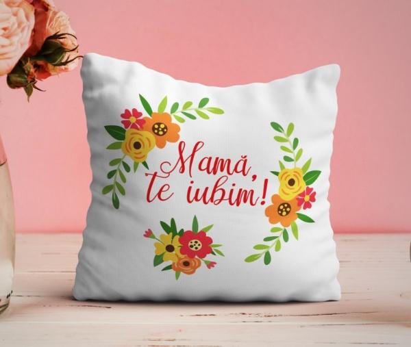 Perna personalizata - Mama, te iubim! 0