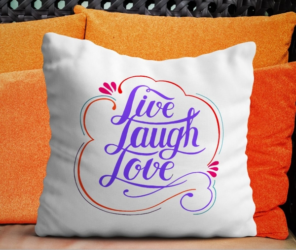 Perna Personalizata - Live Laugh Love 0