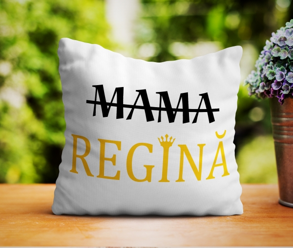 Perna personalizata - Mama Regina 0