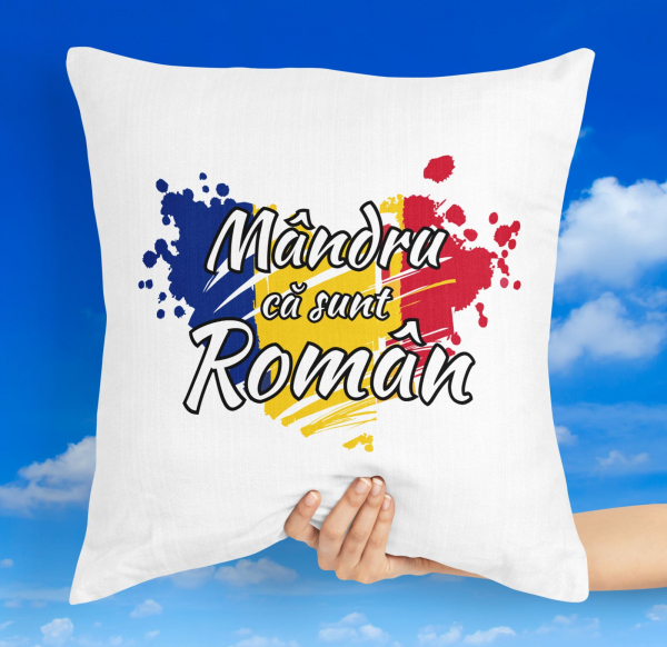 Perna Personalizata - Mandru Ca Sunt Roman 0