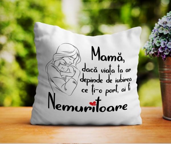 Perna personalizata - Mesaj pentru mama 0