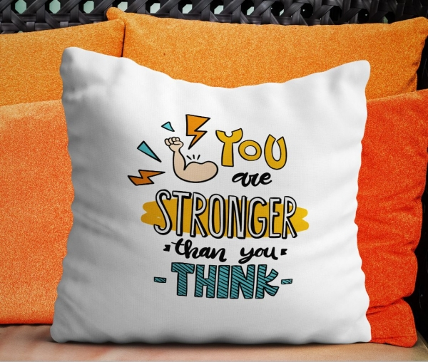 Perna Personalizata - Stronger Than You Think 0