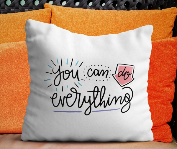 Perna Personalizata - You Can Do Everything 0