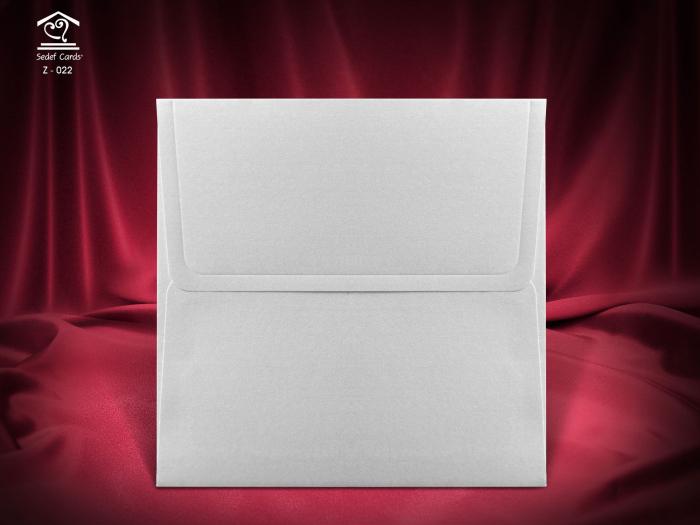 Plic Invitatii Nunta sau Botez - Z022 Argintiu [0]