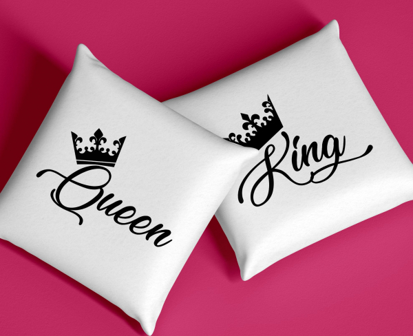 Set Perne Pentru Cuplu - King And Queen 0
