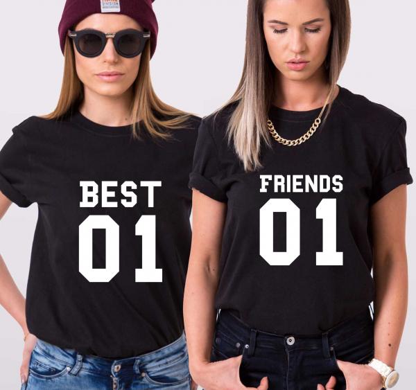 Set Tricouri - Best Friends 1