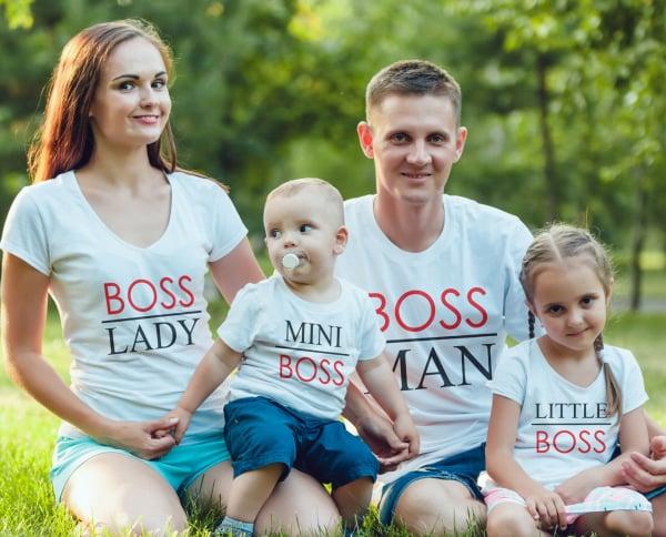 Set Tricouri Personalizate - Boss Family 0