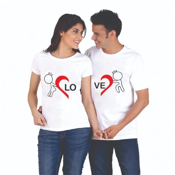 Tricouri Cuplu Personalizate - Love 0