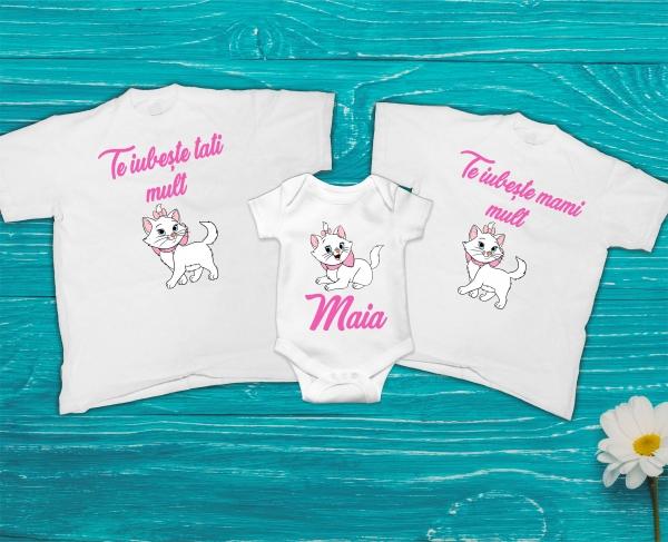 Set Tricouri Personalizate si Body - Mami si Tati Ma iubesc 0