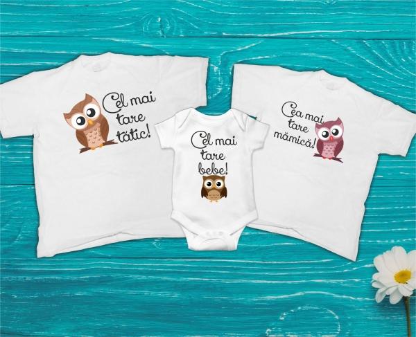 Set Tricouri Personalizate si Body - Cei Mai Tari 0